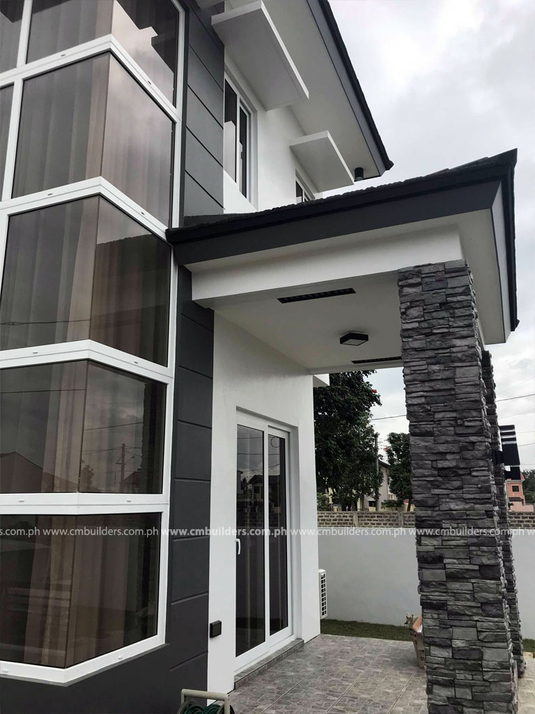 Modern Two Storey House Design With Terrace: Budget Friendly House Construction In The