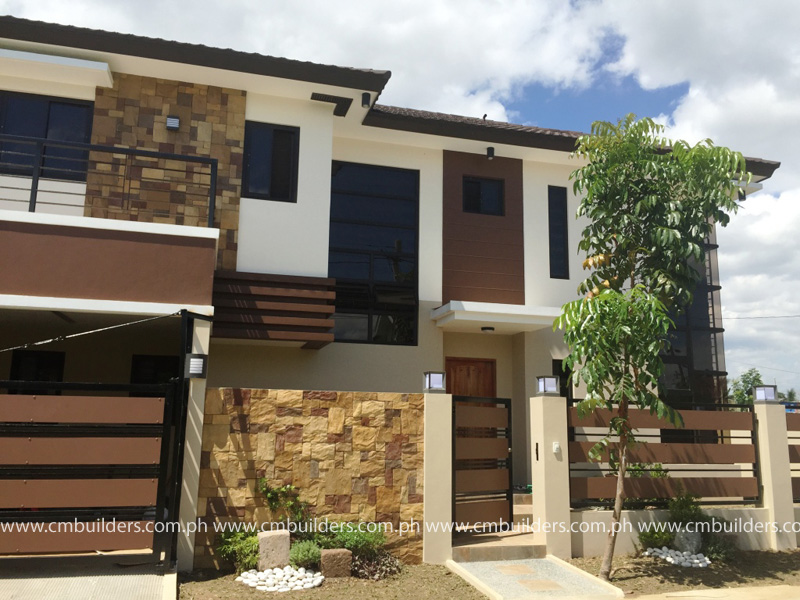 Modern zen 2 storey residence north fairview quezon for Modern house quezon city