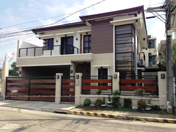 2 storey modern zen design valenzuela city cm builders for Zen apartment design in the philippines