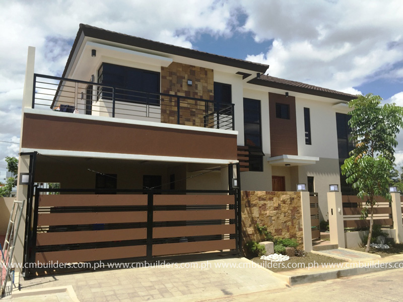 Modern zen 2 storey residence north fairview quezon for 3 story modern house plans philippines